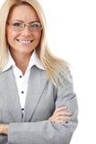 γυναίκα επιχειρησιακών &gamm Στοκ εικόνα με δικαίωμα ελεύθερης χρήσης