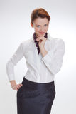 γυναίκα επιχειρησιακών &gamm στοκ φωτογραφίες