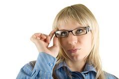 γυναίκα επιχειρησιακών &gamm Στοκ Εικόνες