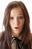 γυναίκα εφήβων πορτρέτου Στοκ φωτογραφία με δικαίωμα ελεύθερης χρήσης