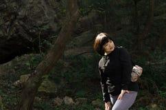 Γυναίκα ελαφριών ακτίνων Στοκ φωτογραφία με δικαίωμα ελεύθερης χρήσης