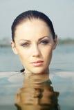 γυναίκα θάλασσας Στοκ εικόνες με δικαίωμα ελεύθερης χρήσης