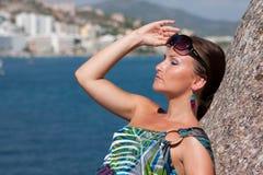 γυναίκα θάλασσας Στοκ Φωτογραφίες