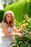 γυναίκα κήπων Στοκ εικόνες με δικαίωμα ελεύθερης χρήσης