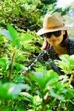 γυναίκα κήπων στοκ εικόνα με δικαίωμα ελεύθερης χρήσης