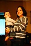 Γυναίκα και παιδί Στοκ εικόνα με δικαίωμα ελεύθερης χρήσης
