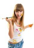 γυναίκα καλλιτεχνών oung στοκ εικόνες με δικαίωμα ελεύθερης χρήσης