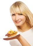 γυναίκα καρπού κέικ Στοκ εικόνα με δικαίωμα ελεύθερης χρήσης
