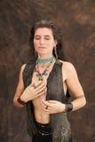 γυναίκα καρδιών Στοκ Φωτογραφίες
