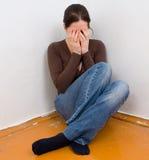 γυναίκα κατάθλιψης Στοκ φωτογραφίες με δικαίωμα ελεύθερης χρήσης