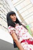γυναίκα καταστημάτων συ&sigma Στοκ Φωτογραφία