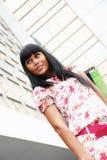 γυναίκα καταστημάτων συ&sigma Στοκ Φωτογραφίες