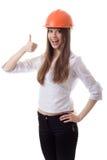 γυναίκα κρανών Στοκ εικόνες με δικαίωμα ελεύθερης χρήσης