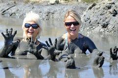 γυναίκα λάσπης Στοκ Φωτογραφία