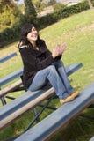 Γυναίκα λευκαντών στοκ εικόνα με δικαίωμα ελεύθερης χρήσης