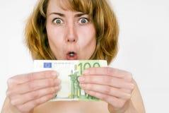 γυναίκα λογαριασμών στοκ φωτογραφίες