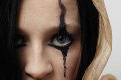 γυναίκα ματιών s Στοκ εικόνες με δικαίωμα ελεύθερης χρήσης