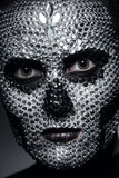 Γυναίκα με τη σύνθεση έννοιας Στοκ φωτογραφία με δικαίωμα ελεύθερης χρήσης