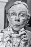 Γυναίκα με το τσιγγελάκι Στοκ Εικόνες