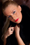 Γυναίκα μόδας γοητείας στοκ εικόνες με δικαίωμα ελεύθερης χρήσης