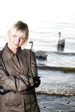 γυναίκα μόδας Στοκ Φωτογραφία