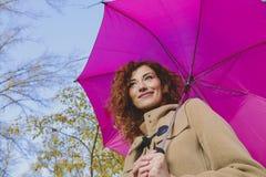 Γυναίκα μόδας φθινοπώρου Στοκ Εικόνες