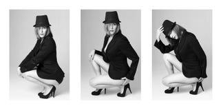γυναίκα μόδας Στοκ εικόνα με δικαίωμα ελεύθερης χρήσης