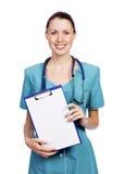 γυναίκα νοσοκόμα γιατρών &a Στοκ Εικόνες