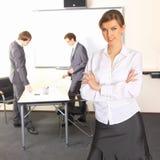 γυναίκα ομάδων επιχειρη&sigm Στοκ φωτογραφία με δικαίωμα ελεύθερης χρήσης