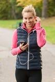 Γυναίκα ομορφιάς που φορά sportswear Στοκ φωτογραφίες με δικαίωμα ελεύθερης χρήσης
