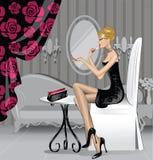 Γυναίκα ομορφιάς απεικόνιση αποθεμάτων