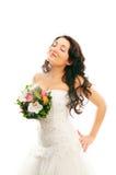 γυναίκα λουλουδιών Στοκ Εικόνες