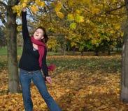 γυναίκα πάρκων Στοκ Φωτογραφία