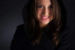 γυναίκα παλτών στοκ φωτογραφία με δικαίωμα ελεύθερης χρήσης