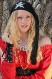 γυναίκα πειρατών Στοκ εικόνες με δικαίωμα ελεύθερης χρήσης
