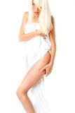 γυναίκα πετσετών Στοκ εικόνες με δικαίωμα ελεύθερης χρήσης