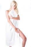 γυναίκα πετσετών Στοκ Φωτογραφία
