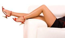 γυναίκα ποδιών Στοκ Φωτογραφία