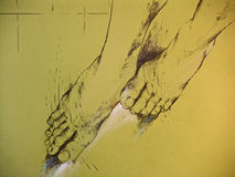 γυναίκα ποδιών s σχεδίων Στοκ εικόνες με δικαίωμα ελεύθερης χρήσης