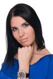 γυναίκα πορτρέτου κινημα& Στοκ φωτογραφία με δικαίωμα ελεύθερης χρήσης