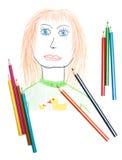 γυναίκα πορτρέτου μολυ&bet στοκ φωτογραφία με δικαίωμα ελεύθερης χρήσης