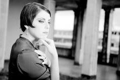 γυναίκα πορτρέτου ομορφ&i Στοκ εικόνες με δικαίωμα ελεύθερης χρήσης