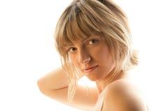 γυναίκα πορτρέτου ομορφ&i Στοκ φωτογραφίες με δικαίωμα ελεύθερης χρήσης