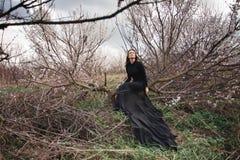 γυναίκα πορτρέτου ομορφ&i Στοκ Εικόνες
