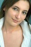 γυναίκα πορτρέτου ομορφ&i Στοκ Φωτογραφίες