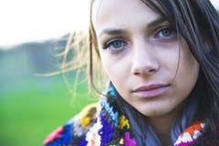 γυναίκα πορτρέτου Στοκ Εικόνες