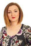 γυναίκα πορτρέτου redhair Στοκ φωτογραφία με δικαίωμα ελεύθερης χρήσης