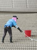 Γυναίκα που stears Στοκ εικόνα με δικαίωμα ελεύθερης χρήσης