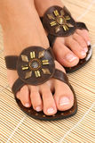 γυναίκα ποδιών Στοκ εικόνα με δικαίωμα ελεύθερης χρήσης