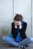 γυναίκα προβλήματος s Στοκ φωτογραφία με δικαίωμα ελεύθερης χρήσης